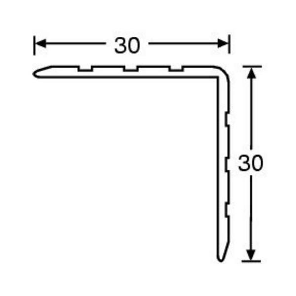 Corni re d 39 angle 30 x 30 mm longueur 2 m - Corniere d angle ...