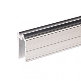 Aluminium sluitprofiel 10 mm, omkeerbaar (1x 199 cm)