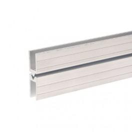 Aluminium sluitprofiel 10 mm, mannelijk (1x 200 cm)