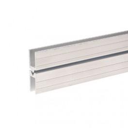 Aluminium sluitprofiel 10 mm, vrouwelijk (1x 200 cm)