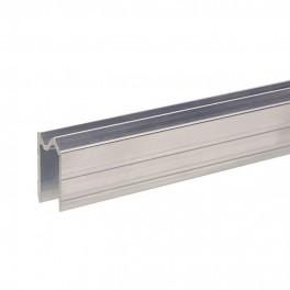Aluminium sluitprofiel 13 mm, omkeerbaar (1x 200 cm)