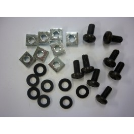 Bevestigingsset voor aluminium rackprofiel (schuifsysteem)