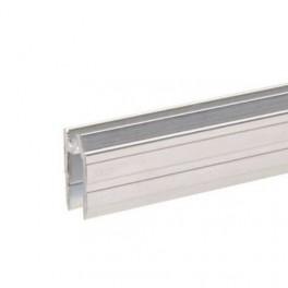 Aluminium sluitprofiel 7 mm, omkeerbaar (1x 200 cm)