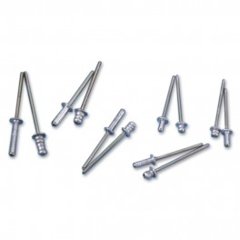 Pop-Rivets (100 pieces) 4,0 mm x 9,5 mm
