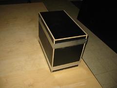 fabrication d 39 un flight case rack 19 pouces. Black Bedroom Furniture Sets. Home Design Ideas