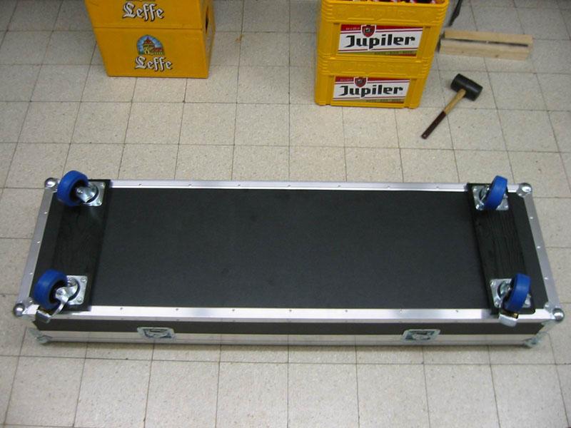 stufenplan bauen eines keyboard flightcase. Black Bedroom Furniture Sets. Home Design Ideas